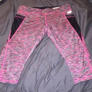 Multi colored work out pants